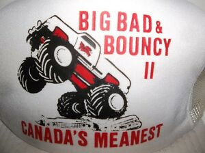 MONSTER TRUCK HATS  BIG BAD & BOUNCY II Belleville Belleville Area image 1