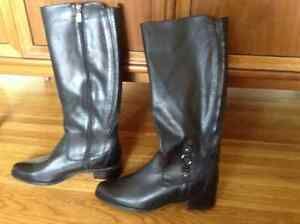 Brand New Leather Riding boots Windsor Region Ontario image 1