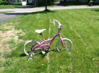 Girls bicycle 5-8 years old