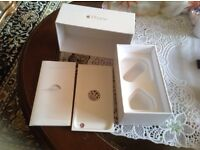 Apple iPhone box 6 gold only box 128GB £8