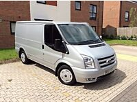 2009 FORD TRANSIT TREND 110 2.2TDCI SILVER LOW MILES 110k SHOWROOM CONDITION HPI CLEAR