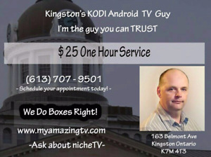 Best Android TV Box Programming and IPTV in Kingston Ontario