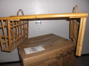 FURTHER REDUCED - Vintage Wicker TV Serving Tray