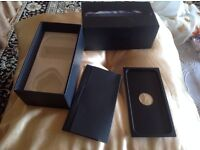 Apple iPhone 5 box only box black colour 16 GB £4