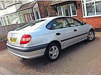 VERY LOW MILEAGE 2002 TOYOTA Avensis 1.8vvti 1.8 VVTi FSH 3 keys BARGAIN! Honda accord corolla civic