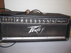 peavey deuce II 110w tube guitar amplifier amp head
