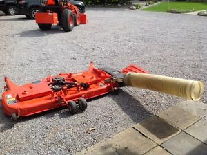 Kubota commercial grade mower deck and grass catcher Kawartha Lakes Peterborough Area image 1