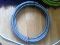15mm twin and earth and 6mm green and yellow earth cable