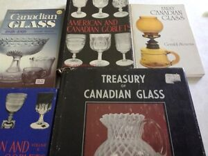 Antique Books on Canadian Glass