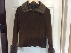 Ladies suede jacket