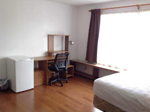 West side  bedroom for a Female student
