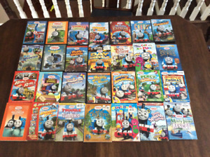28 Thomas and Friends DVD's