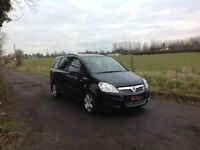 24/7 Trade sales NI Trade Prices for the public 2008 Vauxhall Zafira 1.6 Executive 7 Seater Black