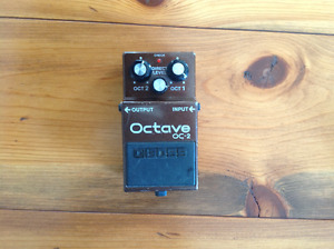 Boss Octave pedal
