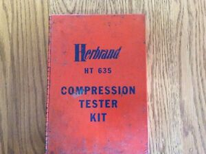 HERBRAND COMPRESSION TESTER London Ontario image 1