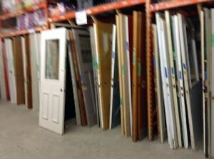 Assorted Interior/Exterior & Aluminuim Doors