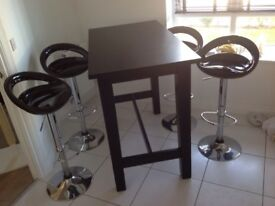 Ikea Stornas bar table 127cms x 70cms