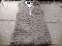 Atmosphere ladies vest fur jacket size: 14 used £2