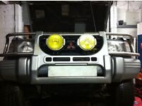 Bull Bar for Mk2 Pajero /Shogun