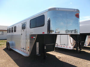 New Sundowner 2,3 and 4 Horse Trailers