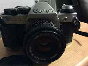 Canon AE-1 Program with lens