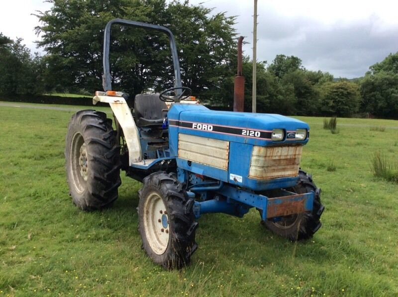 Ford 2120 Tractor : Tractor ford new holland reduced to sell in