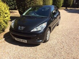 2008 Peugeot 207 1.4 diesel only £30 tax