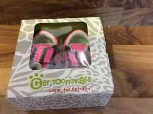 BNIB - Cartoonimals Pink Runners