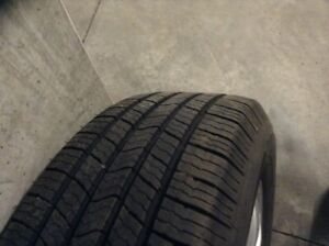 Michelin Summer tires 225/65/17 with mags 5x114.3