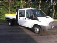 2013 62Ford Transit 2.2TDCi ( 125PS ) ( EU5 ) ( RWD ) 350EF Double Cab C 350 LWB