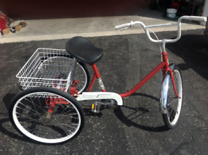 """""""BICYCLE """" ADULT THREE WHEEL  """", in excellent condition---$175--"""