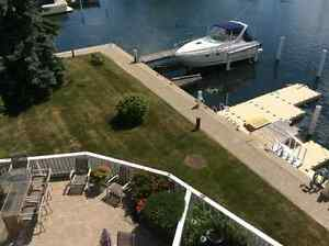 Only condo in town with boat lift at door