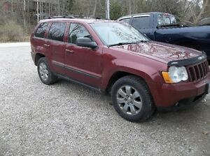 DIESEL 2008 Jeep Grand Cherokee Laradeo SUV, Crossover
