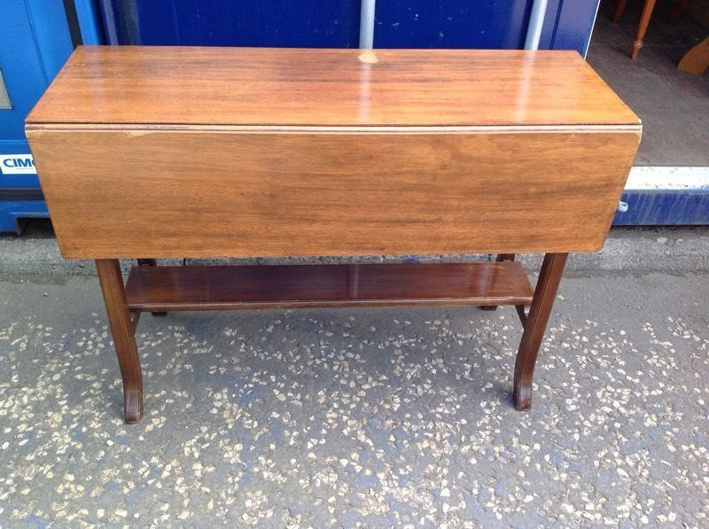Vintage Drop Leaf Console Table In Angus Gumtree