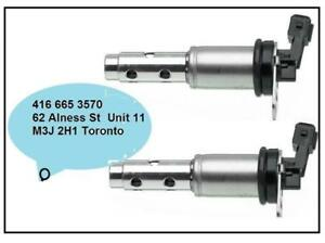Set of 2 BMW 11367585425- Vanos Engine Variable Timing Solenoid - Premium quality (1 Year Warranty)