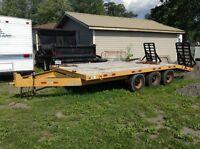 10 ton triaxle float for sale
