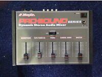 Maplin PRO-SOUND dynamic stereo audio mixer