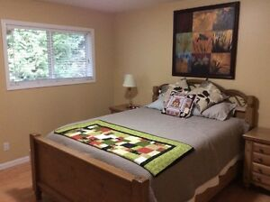 Great 2 BDRM Furnished Suite in Desirable Long Lake Heights
