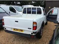 FORD RANGER DOUBLE CAB4X4 TD, White, Manual, Diesel, 2004