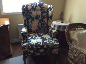 Free Barrymore wing chair