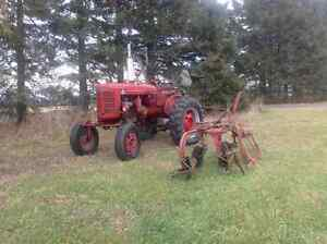 1949 Farmall Super A tractor West Island Greater Montréal image 2