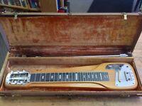 Fender lap steel guitar