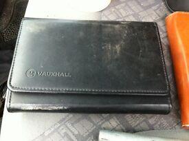 Vauxhall vivaro wallet and handbook