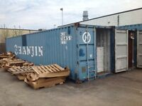 40' Shipping Containers $2000 plus HST delivered