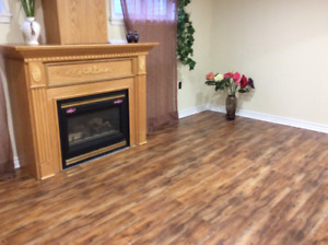 Rent for one room in basement from October.