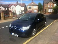 Citroen C4 SX 2008 1.6 Automatic Only 61,984 Miles