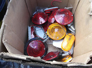 assortment of trailer lights