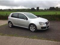 2005 Volkswagen Golf 1.9 TDI SE 6 speed silver 5 door motd may 17