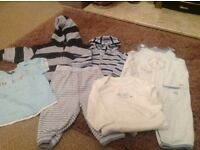 Lovely bundle of baby boy's clothing-Age 6-9 months