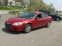 2004  SEBRING 6 CYL -  LOADED -  PRIVATE SALE  BEST BUY $2550.